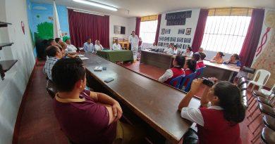 Secretario de Educación socializó proyecto de reconstrucción de Institución San Luis de Garagoa