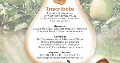 """Concurso de Cuento Departamental """"La Pera De Oro"""" Tercera Versión 2017"""