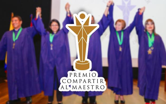 Premio Compartir al Maestro Boyacá
