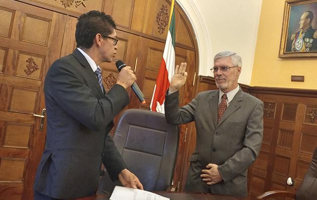 Tomó posesión nuevo Secretario de Educación de Boyacá