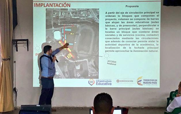 28 nuevos colegios se construirán gracias a la gestión del Gobernador Carlos Amaya