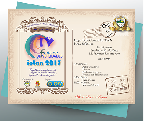 Invitacion IV feria U