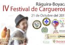 En Ráquira Institución Educativa San Antonio conmemora sus tradiciones con el IV Festival de Cargueros
