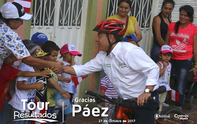 Tour de los resultados Paez