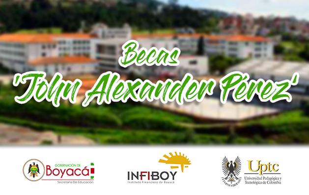 Becas Uptc Gobernación de Boyacá beneficiados