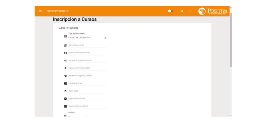 formulario cursosvirtuales