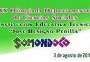 XX Olimpiada Departamental de Ciencias Sociales