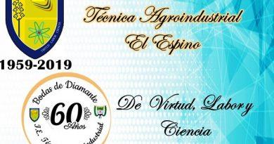 Institución Educativa de El Espino invita a celebrar sus 60 años de servicios a la comunidad