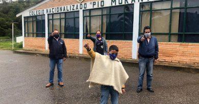 Contagio positivo de solidaridad se registró en Tutazá