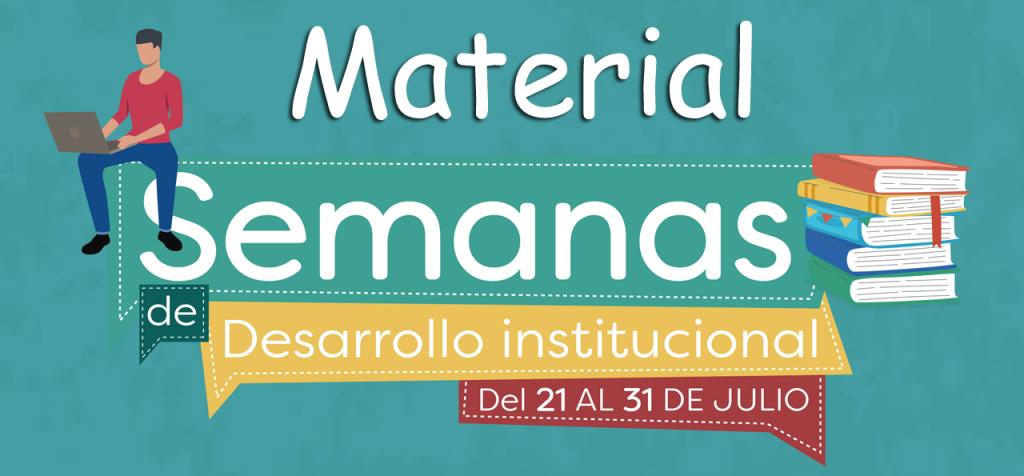 material-semana-desarrollo-institucional